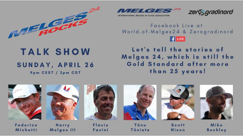 MELGES 24 ROCKS Talk Show - April 26, 2020
