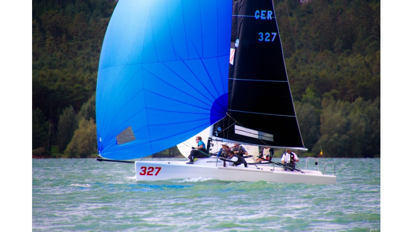 Ballyhoo Reloaded GER327 of Martin Thiermann - 2020 Melges 24 German Open on Brombachsee