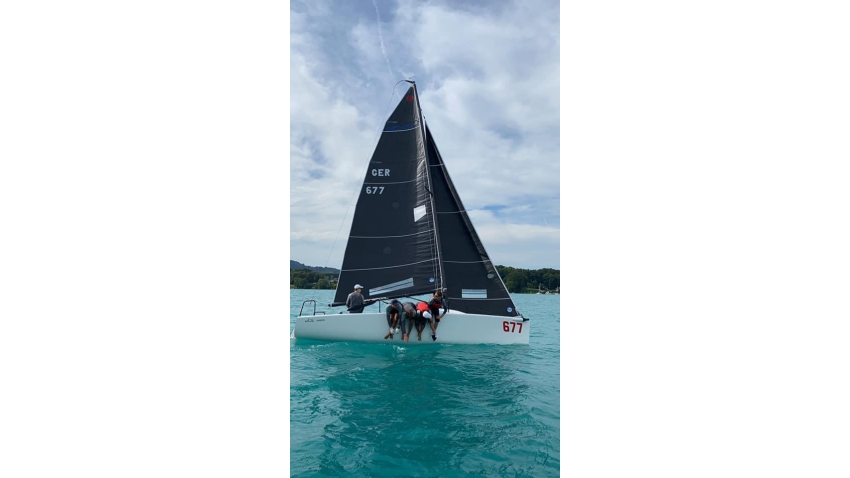 White Room GER-677 of Michael Tarabochia with Luis Tarabochia at the helm - 2020 Melges 24 Austrian Champion