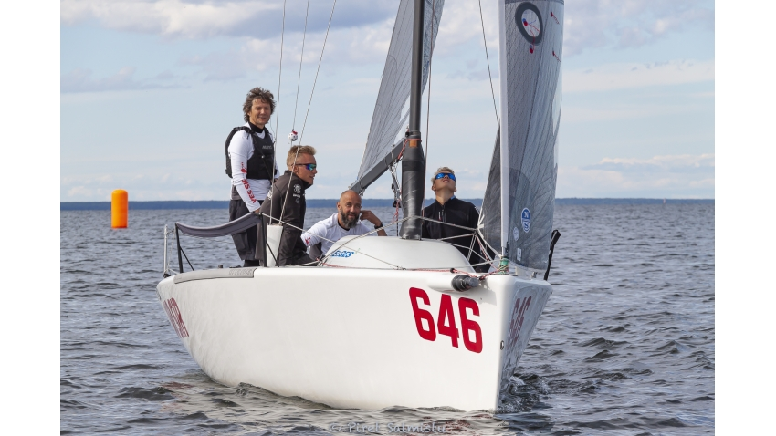 Yes Sir No Sir EST646 of Tõnis Haavel with Raul Grigorjev, Henri Roihu, Tobias Reiter and Anu Reiman - 2020 Melges 24 Estonian Championship August 28-30