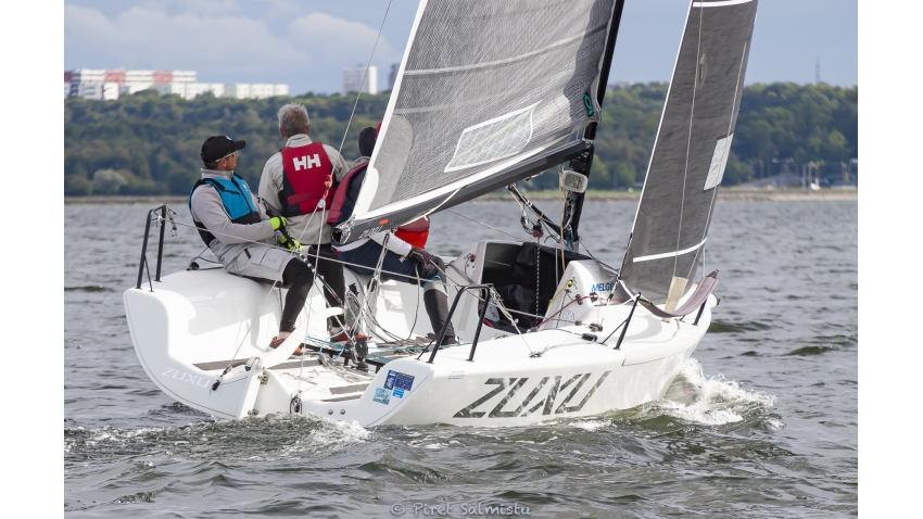 ROCK CITY EST791 with Tiit Vihul, Martin Müür, Indrek Ulla, Lauri Kärner and Triin Sarapuu - 2020 Melges 24 Estonian Championship August 28-30