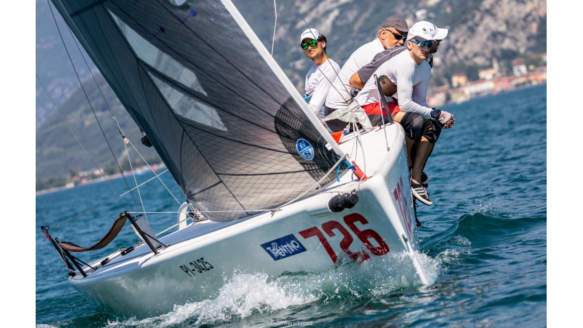 Atena SLO726 of Jure Jerkovic will represent Slovenia at the Portoroz Melges 24 Regatta - the 2020 Melges 24 European Sailing Series Event #1 in Torbole, Italy