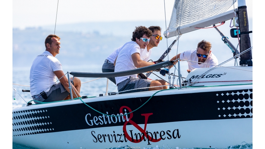 Much of IM24CA's credit goes to Davide Rapotez, the owner and helmsman of Destriero ITA579, for organizing the Melges 24 regatta in Trieste