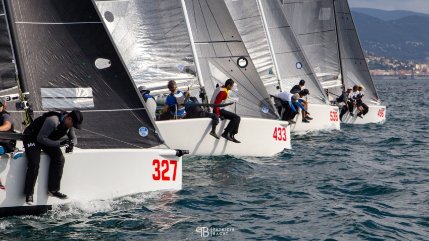 The final event of the 2020 Melges 24 European Sailing Series in Trieste