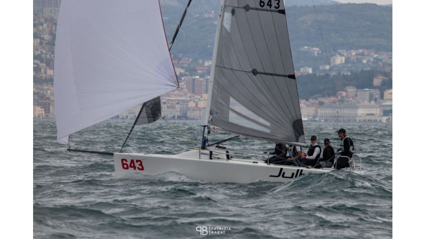 ORCA AUT643 of Helmut Gottwald - third Corinthian team at the 2020 Melges 24 European Sailing Series