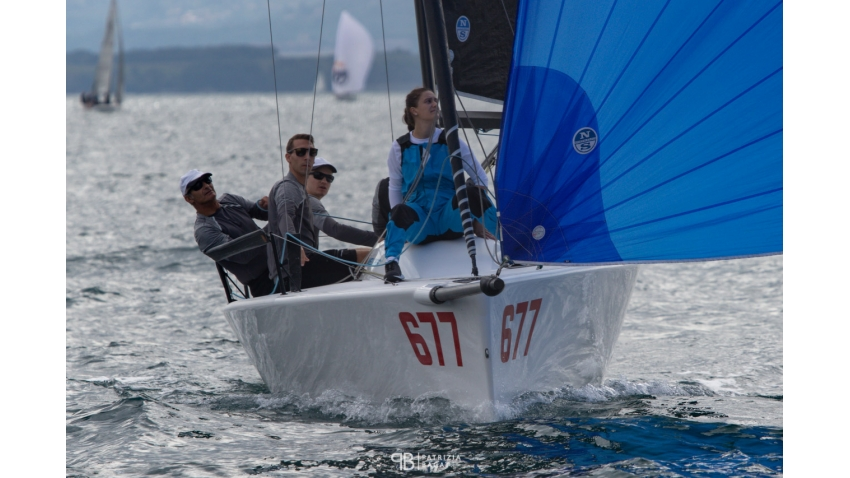 Michael Tarabochia's team White Room, from Germany, confirmed the victory of the 2020 Melges 24 European Sailing Series, both in overall ranking as well as in the Corinthian division at the final event of the 2020 Melges 24 European Sailing Series