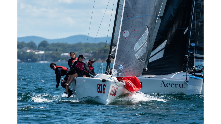 Peter Kendall's Amigos AUS816 - 2021 NSW State Championship - Lake Macquarie YC
