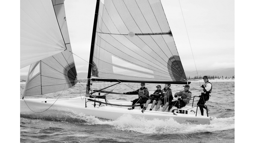 Heath Walters and his Amigos - Australian Melges 24 Nationals 2015