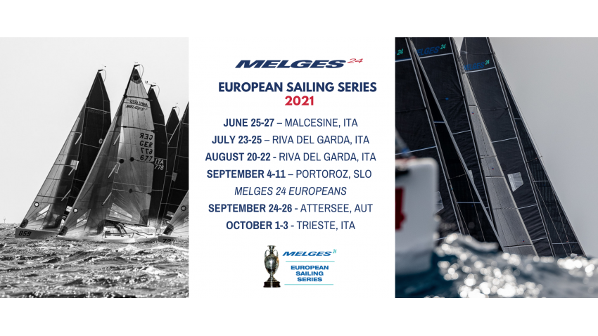 2021 Melges 24 European Sailing Series New Schedule