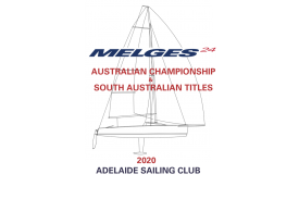 2020 Melges 24 AUS Nationals logo