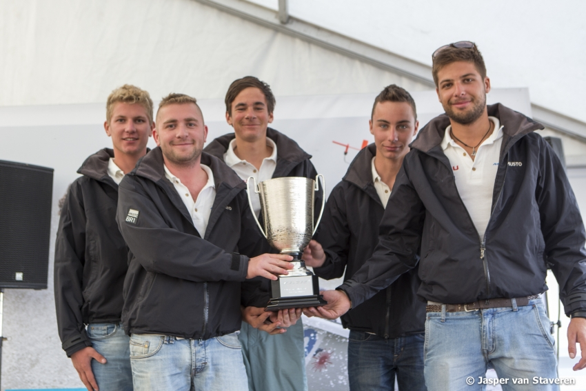 FGF Sailing Team HUN209 with Robert Bakoczy in helm - 2014 European Sailing Series Corinthian winner - Medemblik