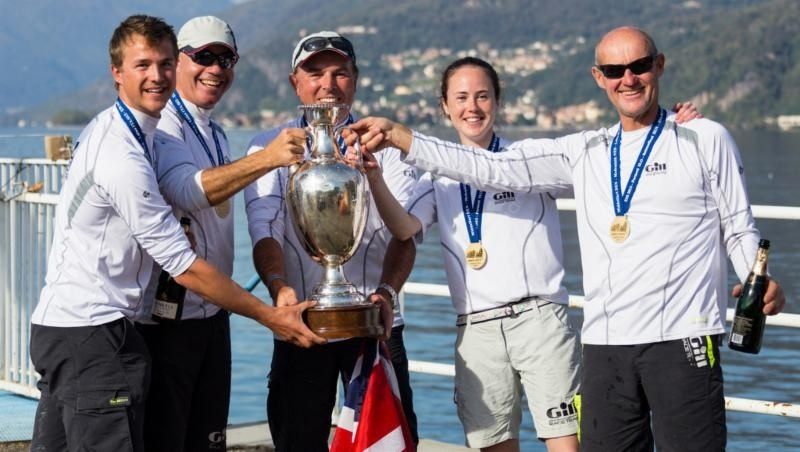 Gill Race Team GBR694 of Miles Quinton - 2015 Melges 24 European Sailing Series - Overall Winner
