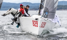 WTF USA829 of Alan Field - Second Overall at the Melges 24 Worlds 2018