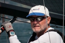 Eddy Eich - 2018 Melges 24 European Sailing Series event in Domaso, Italy