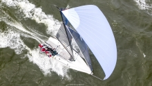 Can't wait to have this downwind ride in Charleston! Melges 24 at the 2019 Sperry Charleston Race Week.