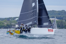 2019 Melges 24 North American Champion Travis Weisleder racing Lucky Dog