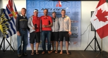 Richard Reid's Zingara CAN853 with Scott Nixon, Mike Wolfs and Billy Gooderham - 2018 Melges 24 Canadian Nationals and Pre-Worlds - III Overall and the best Canadian team - Victoria, BC, Canada