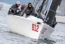 ACCRU+ AUS812 of Kevin and Glenda Nixon - 2018 Melges 24 Worlds in Victoria, BC; Canada