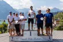 Corinthian Top 3 of the 2020 Melges 24 European Sailing Series Event #1 in Torbole, Italy