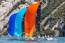 Hungarian Seven-Five-Nine HUN759 by Akos Csolto - 2020 Melges 24 European Sailing Series Event #1 in Torbole, Italy