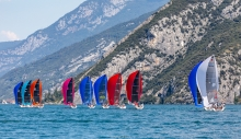 2020 Melges 24 European Sailing Series Event #1 in Torbole, Italy