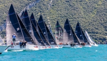 ACT 1 of the Italian Melges24Tour 2020 in Torbole - July, 2020