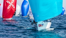 Miles Quinton's Gill Race Team GBR694 with Geoff Carveth at the helm is ranked third at the 2020 Melges 24 European Sailing Series Event #3 in Portoroz, Slovenia after Day One