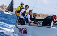 Yes Sir No Sir EST646 of Tõnis Haavel with Raul Grigorjev, Tanel Tamm, Tobias Reiter and Anu Reiman - 2019 Melges 24 Pre-Worlds, Villasimius, Sardinia, Italy