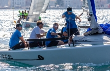 ACE GER647 of Jannes Wiedemann at the 2020 Melges 24 European Sailing Series Event #3 in Portoroz, Slovenia